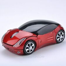 Car Optical 2 Mouse Wireless Pc Usb Mice Laptop Shaped 3d 4g Shape 1600dpi 4ghz