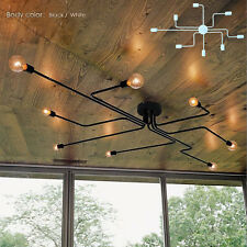 Wrought Iron Chandelier Ceiling Hanging Holder Pillar Light Gothic Colonial New