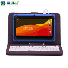 4 Tablet Pc Keyboard Android Core Irulu Quad W 8gb Dual 1 7 16gb 10 Cam 5 Wifi H