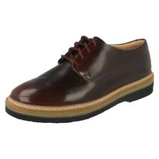 Ladies Clarks Lace Up Flat Brogue Shoes 'Zante Zara'