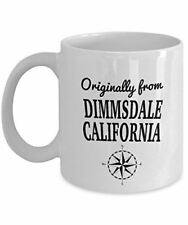 TV Show Mug - Originally from Dimmsdale, California - Cool Ceramic Coffee Mug fo