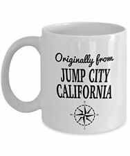 Comics Mug - Originally from Jump City, California - Cool Ceramic Coffee Mug for