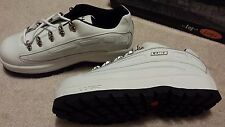 New With Box 2001 NY Lugz  Missile White Tennis Shoes Mens 10.5 ONE OF A KIND!!!