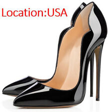 SELL OFF Womens Dress Shoes Women's Pumps Stiletto Heels Pointed Toe US 6-10