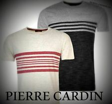 New Mens Pierre Cardin Lightweight England Stripe T Shirt Top Size M-XXL