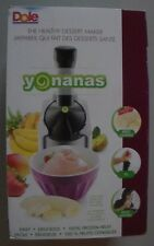 Dole Yonanas Healthy Dessert Maker 901 - Black & Silver