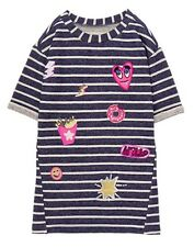 NWT Gymboree Girls Dress Cosmic Club Patch Dress 8,10,12,14
