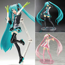 Anime Vocaloid Hatsune Miku PVC Action Dolls Collection Figma Figure Manga Toys