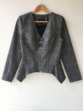 [ COUNTRY ROAD ] technical tweed jacket [ size:10 ] $299 BRAND NEW WITH TAG!!