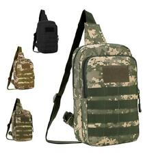 Military Tactical Sling Chest Pack Molle Travel Shoulder Backpack Casual Bag