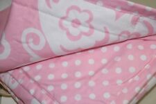 NEW Pottery Barn Kids LOFT STANDARD SHAM Quilted Butterfly Pink White 4 availabl
