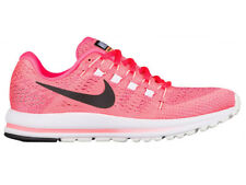 NEW WOMENS NIKE ZOOM VOMERO 12 RUNNING SHOES TRAINERS LAVA GLOW / BLACK / RACER