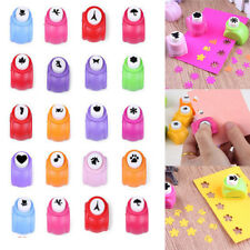 Mini Paper Hole Punch Cutter Printing Paper Hand Shaper Scrapbook Cards Craft