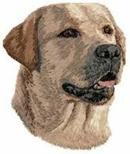 Labrador Retriever Dog, Embroidered Patch, or Embroidered Hat