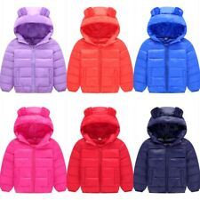Boys Girls Winter Jacket Warm Parka Outerwear Baby Clothes Hooded Duck Down Coat