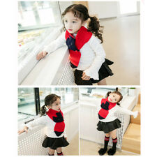 Fall Winter Trend Baby Boys Girls Cute Fox Warm Knitted Scarf 2-5 Years Old