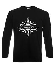 GODSMACK 1 T-SHIRT SHORT/LONG SLEEVE MEN BLACK FRUIT OF THE LOOM DTG