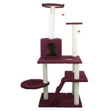 59 inch Cat Tree Bed Furniture Scratching Post Tower Condo Kitten Pet Play House