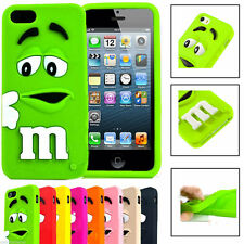 Rubber Silicone Soft Colourful Phone Case Cover For Apple iPhone 4/4s