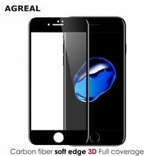 AGREAL 3D Full Curved  Tempered Glass For Apple iPhone 7 6 6s Premium Real 9H Ca