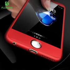 FLOVEME Super 3 in 1 360 Full Body Phone Case for iPhone 6 7 6s Plus Case for iP