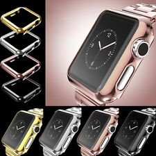 38/42mm Full Body Snap On Screen Case Cover Protector For Apple Watch 3/2/1