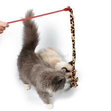 Pet Cat Teaser Interactive Toy Kitten Tease Stick Colorful Rods Plaything Toys