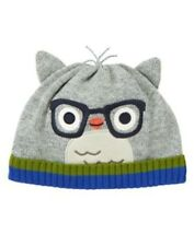 NWT Gymboree Adorable Owl Sweater Hat Boy SZ 3 6 mo owl Sweater Hat
