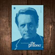 Patrick McGoohan is The Prisoner 1960s TV - Limited Edition Icons Art Print
