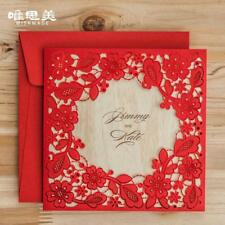 Wedding Laser Cut Lace Cards Invitation Invitations Card Party Wishmade Square