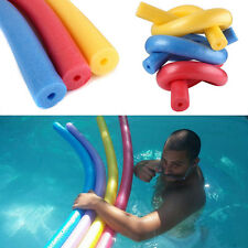 Swimming Pool Water Float Aid Woggle Swim Noodle Noodles Flexible Hollow Fun Kit