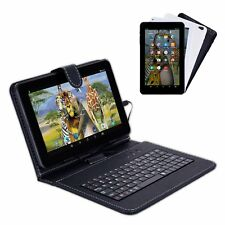 XGODY Tablet PC Bundle Keyboard Case 9'' Google Android 5.1 Quad Core 8GB Wi-Fi