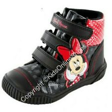 NEW Girls MINNIE MOUSE Hi Tops SIZE 6 7 8 9 10 11 DISNEY Top Brand Shoes
