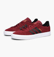 Adidas Campus Vulc II Men's Casual / Fashion Shoes Color Burgundy/Black - BY3963