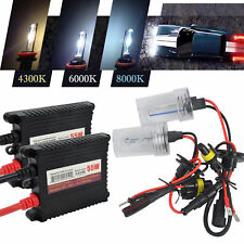 55W HID Xenon Headlight Conversion KIT H7 Xenon Gas Headlights 4300K 6000K 8000K