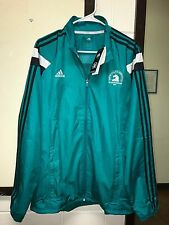 NWT Adidas Anthem Men's Boston Marathon 2016 Running Jacket M L XL Teal AO3833