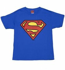 Official Kids Blue DC Comics Superman Logo T-Shirt