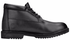 Timberland Men's Premium Waterproof Smooth Leather Casual Chukka Boot Black