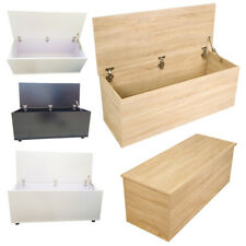 Ottoman Childrens Toy Box Room Storage Wood Chest Bench Bedroom Furniture Unit