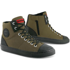 DRIRIDER URBAN Road Bike Motorcycle Casual Shoes Boots Khaki ALL SIZES