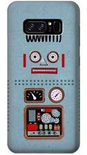 Retro Robot Toy Phone Case for Samsung Galaxy Note8 Note5 Note 4 3 2
