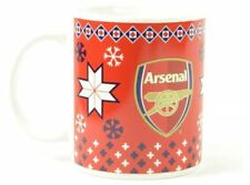 Christmas football team coffee tea CUP 11oz boxed MUG LIVERPOOL,ARSENAL,CHELSEA,