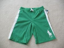 NWT Polo Ralph Lauren Boys Cotton Big Pony Varsity Shorts 3 4 10-12  #2v