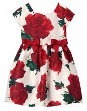 NWT Gymboree Fun and Fancy Red Rose Dress Girl Holiday Christmas Many Sizes