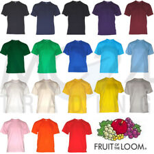 10er Set Fruit of the Loom Kids T-Shirt ALL SIZES AND COLOURS NEW
