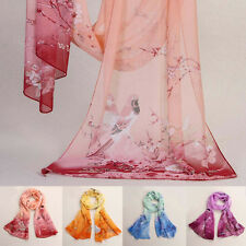 Brand Newest Fashion Style Women Long Soft Silk Chiffon Scarf Wrap Shawl Scarves