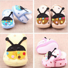 Newborn Baby Boy Girl Anti-slip Indoor Warm Soft Sole Cartoon Shoes