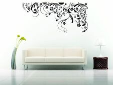 Wall Car Mural Vinyl Decal Sticker Ornament Design Floral Abstract Room Decor