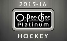 2015-16 OPC O-PEE-CHEE Platinum Hockey-Pick from List- FREE SHIPPING List 1 of 2