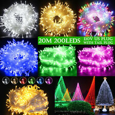 Christmas Party Xmas Led String 200 Lights Outdoor Lights Wedding 20M Waterproof